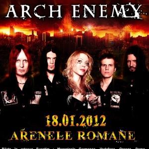 Arch Enemy la Arenele Romane