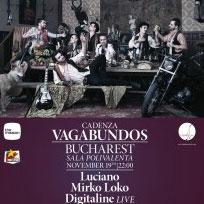 Cadenza Vagabundos - Luciano la Sala Polivalentă