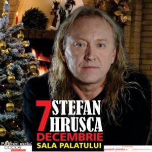 Stefan Hrușcă la Sala Palatului